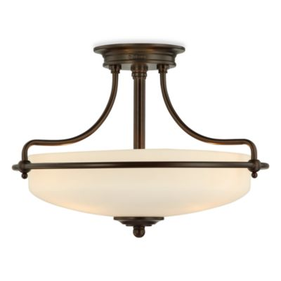 Quoizel® Griffin Large Semi Flush Mount