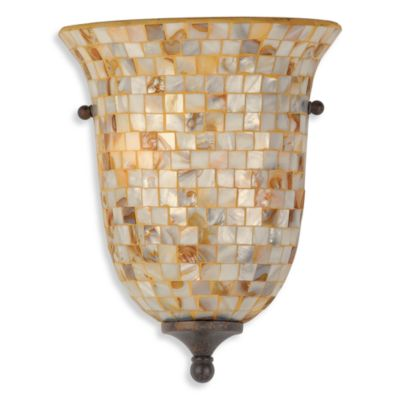 Quoizel® Monterey Mosaic 2-Light Pocket Wall Sconce