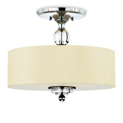 Quoizel® Downtown Large Semi Flush Mount Fixture