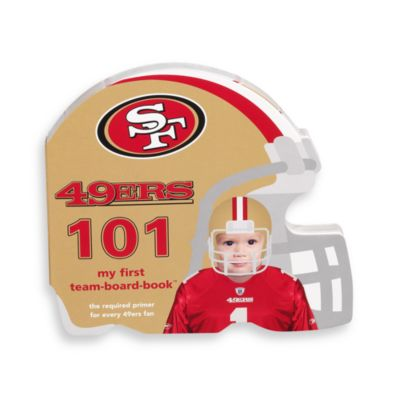 NFL Children's Board Book in San Francisco 49ers 101