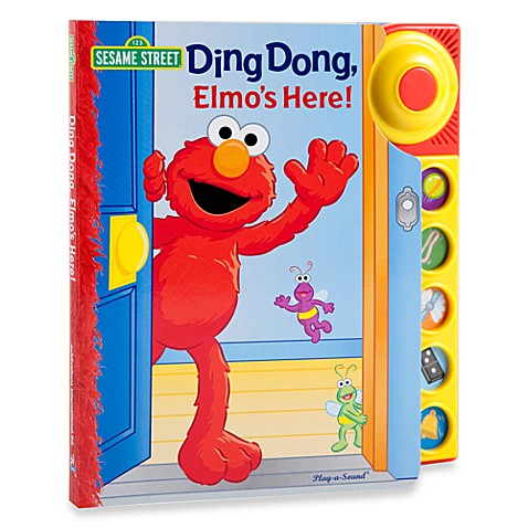 Sesame Street®  Ding Dong in Elmo's Here! Play-a-Sound Book