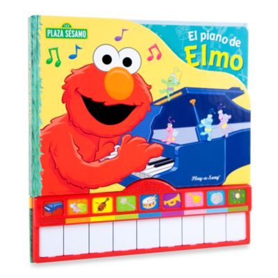 Piano Keys Board Book in Elmo - from Sesame Street