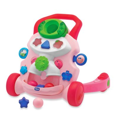 Chicco® Baby Steps Activity Walker in Pink