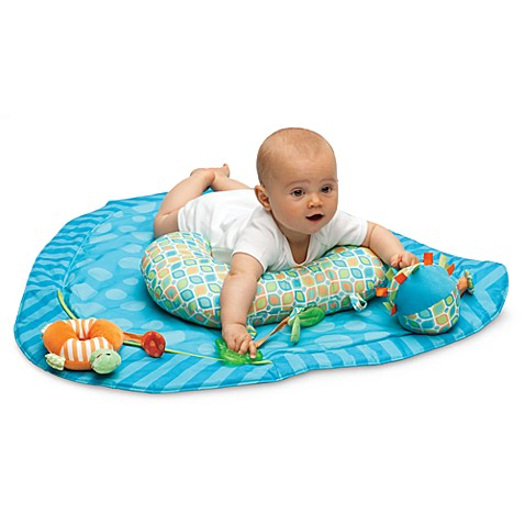 Buy Boppy 174 Tummy Time Play Mat In Stripe A Dot From Bed