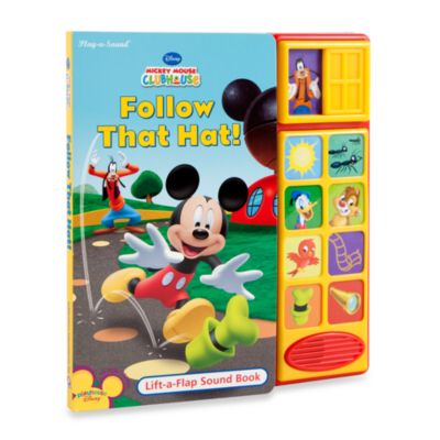 Disney® Mickey Mouse Clubhouse: Follow That Hat! Play-a-Sound Book