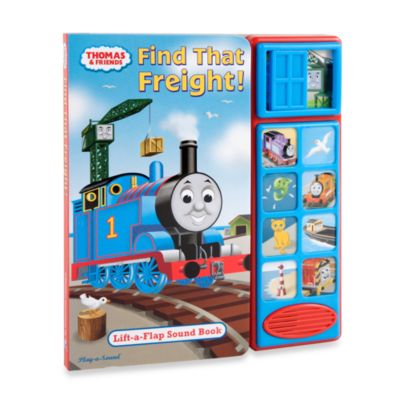 Thomas the Tank Engine: Find That Freight! Play-a-Sound Book - from Thomas & Friends
