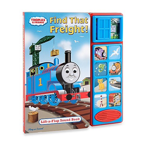 Thomas the Tank Engine: Find That Freight! Play-a-Sound Book