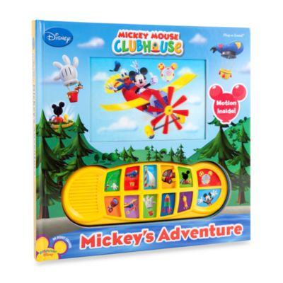 Mickey Mouse Clubhouse: Mickey's Adventure Play-a-Sound Book