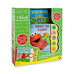 Sesame Street®  Elmo Play-a-Sound 3-Book Set