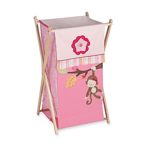 Kidsline miss monkey hamper buybuy baby - Monkey laundry hamper ...