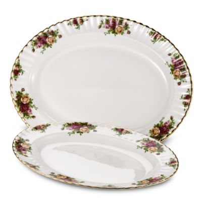 Royal Albert 15-Inch Platter in Old Country Roses