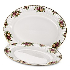 Royal Albert 13-Inch Platter in Old Country Roses