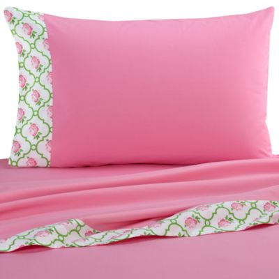 Caden Lane® Boutique Girl Twin Sheet Set