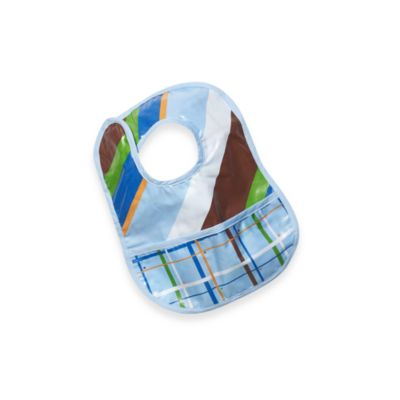 Caden Lane® Reversible Coated Bib instriped