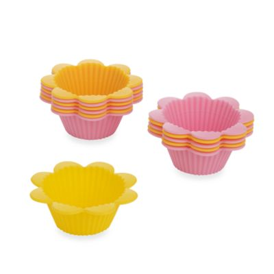 Wilton® Flower Fun-Cups! Cupcake Baking Cups