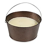 3-Wick Citronella Candle in Copper Bucket