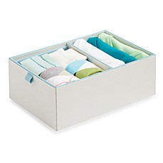 Real Simple® 2-Compartment Adjustable Drawer Organizer