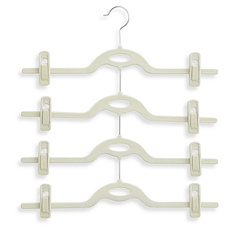 Real Simple® 4-Tier Attachable Skirt Hanger in Stone