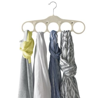Real Simple® Scarf and Belt Hangers in Stone (Set of 2)