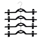 Real Simple® 4-Tier Black Skirt Hanger