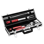 8-Piece Barbecue Tool Set with Case