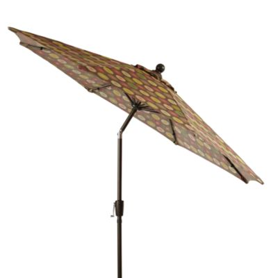 Aluminum 9-Foot Round Umbrella in Parasol
