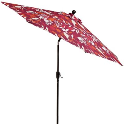 9-Foot Round Aluminum Umbrella in Grosbeak
