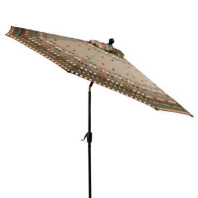 9-Foot Round Aluminum Umbrella in Toulan