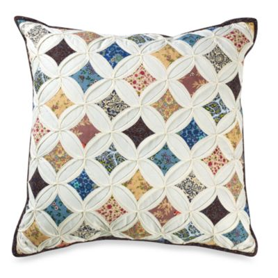 "Sunburst 18"" Square Toss Pillow"