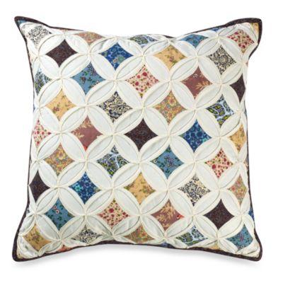 "Sunburst 18"" Square Toss Pillow"