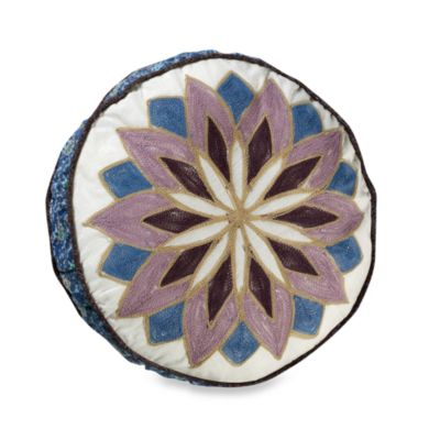 "Sunburst 14"" Round Toss Pillow"