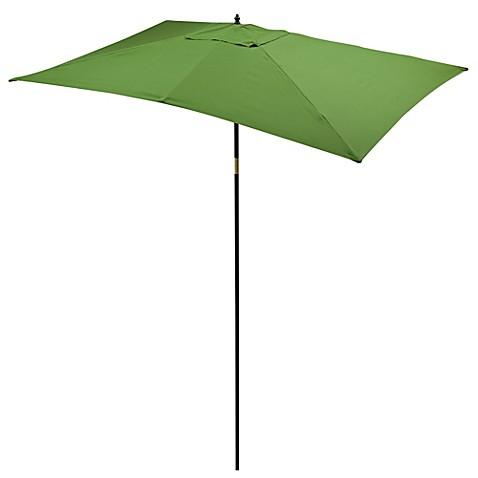 9 5 Foot Rectangular Hardwood Umbrella Bed Bath & Beyond