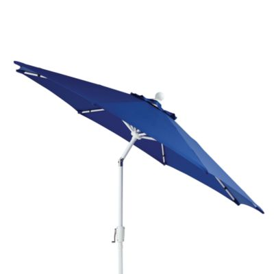 Aluminum 9-Foot Round Market Umbrella in Coastal Blue