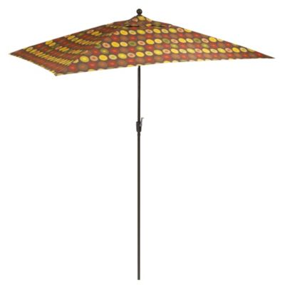 10-Foot Aluminum Rectangular Umbrella in Parasol