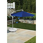 9-Foot Offset Umbrella in Blue