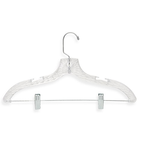 Honey-Can-Do® Suit Hanger with Clips (5-Pack)