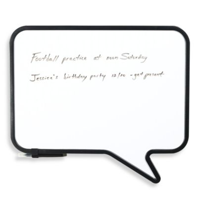Umbra® Dry Erase Talk Board