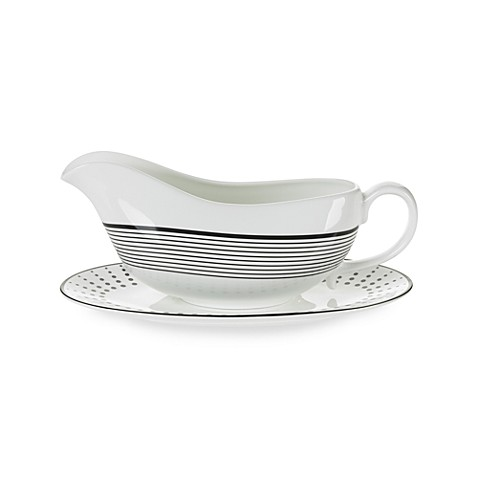Mikasa® Cheers Gravy Boat and Saucer