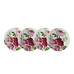 Summer Rose 9-Inch Salad Plates (Set of 4)