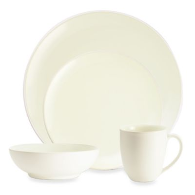 Noritake® Colorwave Coupe 4-Piece Place Setting in White