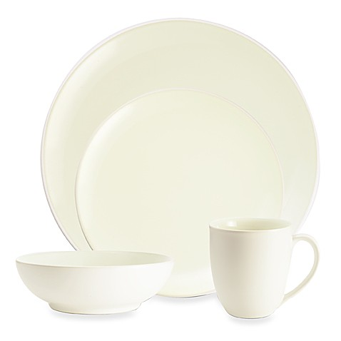 Noritake® Colorwave White Coupe Dinnerware