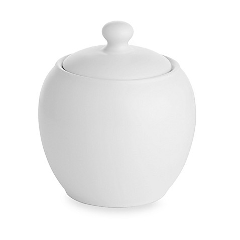 Noritake® Colorwave Covered Sugar Bowl in White