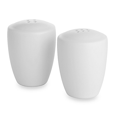 Noritake® Colorwave Salt and Pepper Shakers in White
