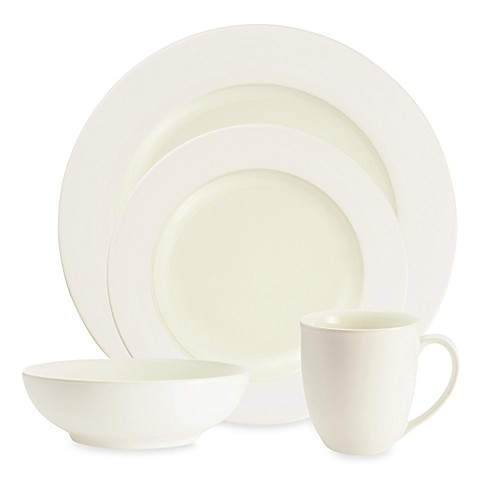 Noritake® Colorwave White Rim Dinnerware