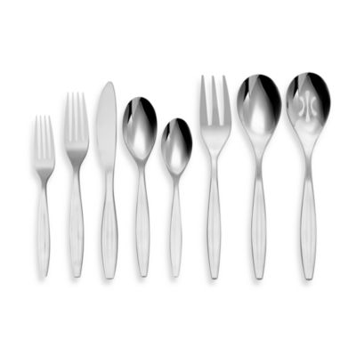 Nambe Grace 43-Piece Flatware Set