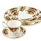 Royal Albert 20-Piece Dinner Set in Old Country Roses