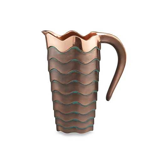 Nambe Copper Canyon Pitcher