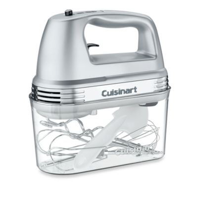 Cuisinart® 7-Speed Electric Hand Mixer in Brushed Chrome