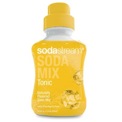 SodaStream Happy Hour Tonic Sodamix Flavor