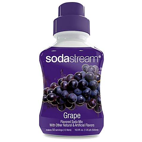 SodaStream Grape Sparkling Drink Mix